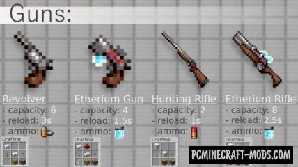GGUNZ - Guns and Ammo Data Pack For MC 1.16.4, 1.16.3