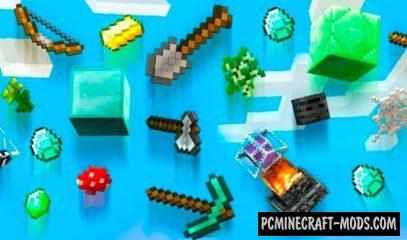 Random Items Rain Data Pack For Minecraft 1.16.5, 1.16.4