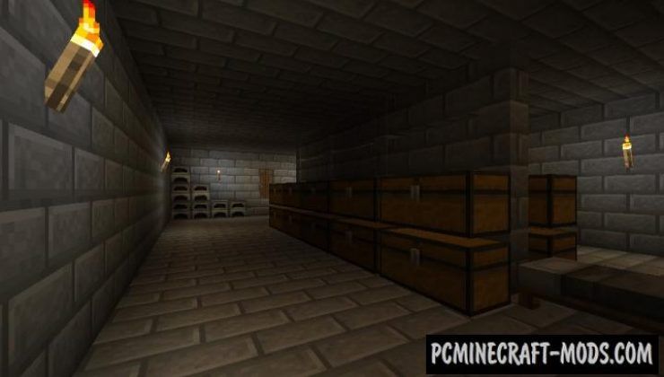 Paraxenos Descent - Finding, CTM Map Minecraft
