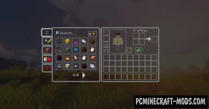 Clear GUI 16x Resource Pack For Minecraft 1.16.5