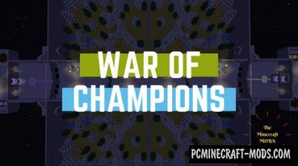 War of Champions - PvP, Minigame Map For Minecraft
