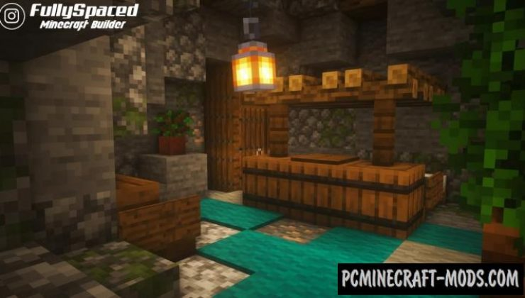 Ultimate Survival Cave Base Map For Minecraft