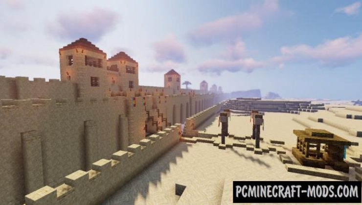 Lacandria - City, 3D Arts, House Map For Minecraft