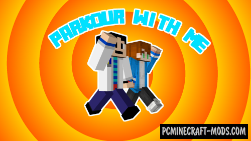 Parkour With Me - Mini Games Map For Minecraft