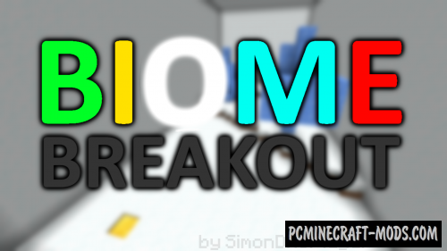 Biome Breakout - Puzzle Map For Minecraft