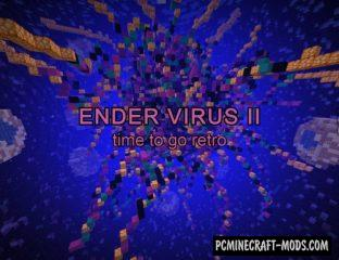 Ender Virus II - Parkour, Puzzle Map For Minecraft