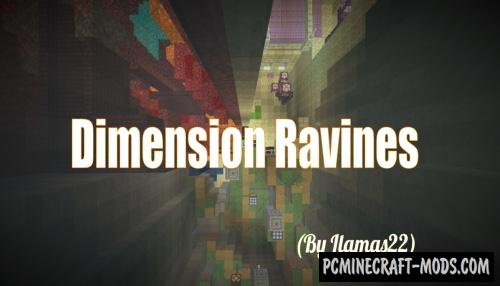 Dimension Ravines - Parkour Map For Minecraft