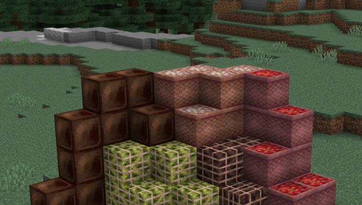 Neapolitan - Food, Generation Mod For Minecraft 1.16.5