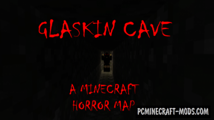 Glaskin Cave - Horror, Puzzle Map For Minecraft