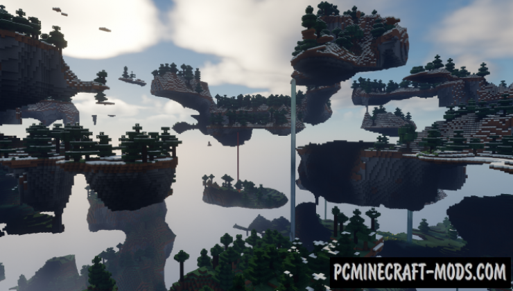 Sanonasu's Floating Islands Data Pack For Minecraft 1.16.5