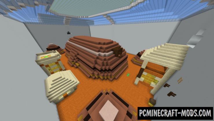 Biome Sprint - Parkour Map For Minecraft