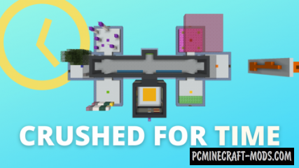 Crushed For Time - Parkour, Puzzle Map For MC