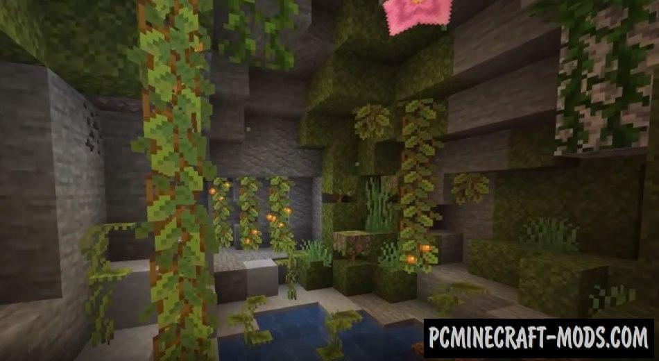 Download Minecraft 1.17 Caves and Cliffs free version