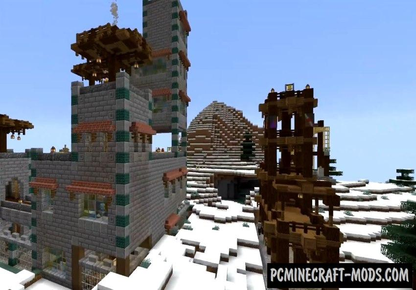 Illager Fortresses Data Pack For Minecraft 1.16.5, 1.16.4
