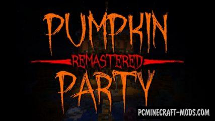 Pumpkin Party Remastered - Minigame Map For MC