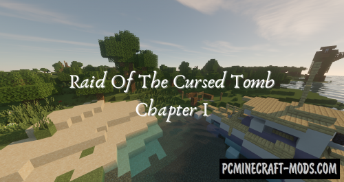 Raid of the Cursed Tomb: Chapter I - Adventure Map