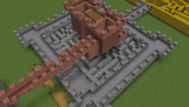 Autumn Maze Adventure - Puzzle Map For MC