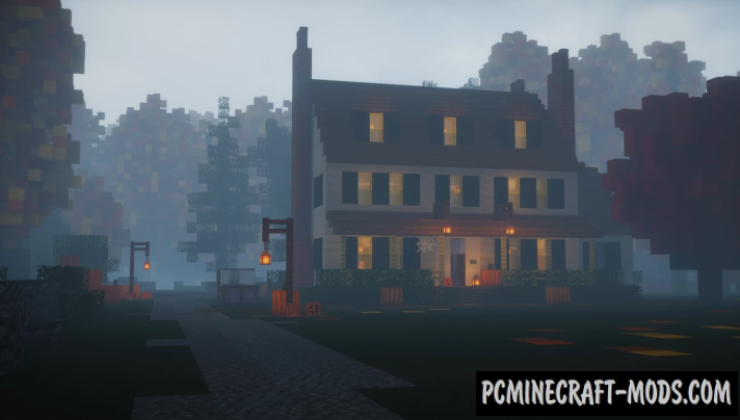 Old Manor House - Surv Map For Minecraft