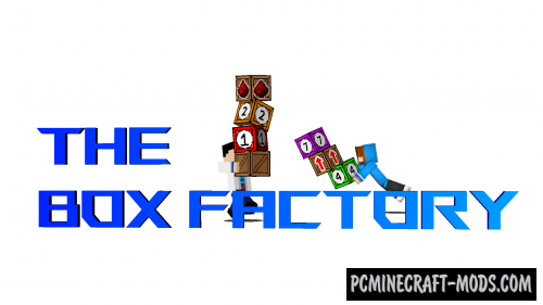 The Box Factory - Puzzle Map For Minecraft