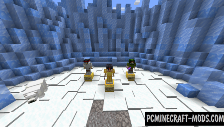 BiomeBattles - PvP Arena Map For Minecraft