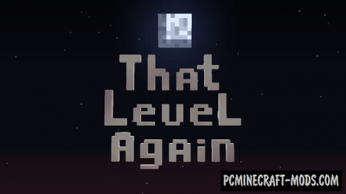 That Level Again - Puzzle Map For Minecraft