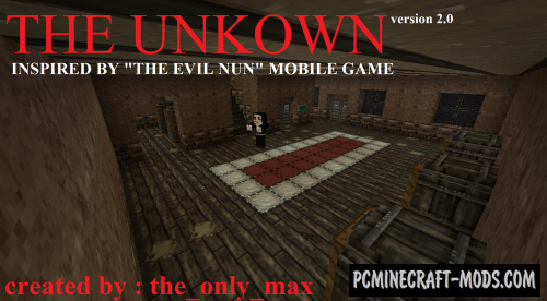 The Unknown - Horror Map For Minecraft