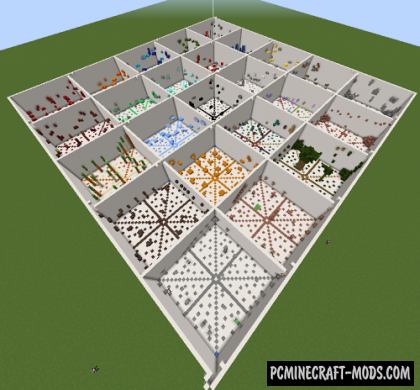 25 Stages of Simple Parkour Map For Minecraft