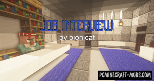 Job Interview - Puzzle Map For Minecraft