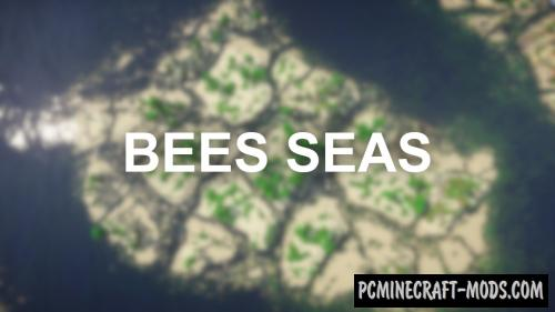 Bees Seas - Survival, Terrain Map For Minecraft