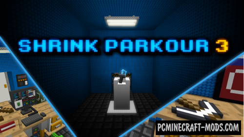 Shrink Parkour 3 - Puzzle Map For Minecraft