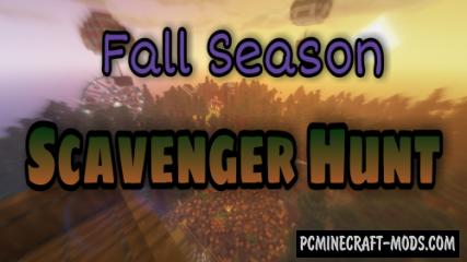 Seasonal Scavenger Hunt - Finding Map For MC