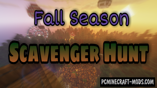 Seasonal Scavenger Hunt - Finding Map For MC