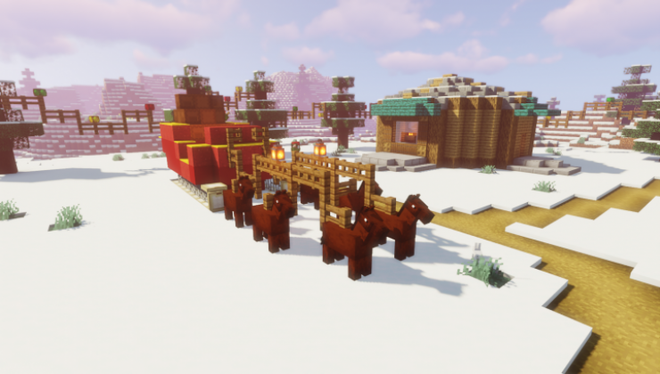 Fixing Christmastown - Adventure Map Minecraft