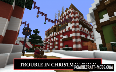 Trouble in Christmas Town - Adventure Map MC
