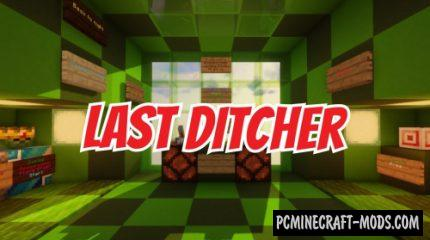 Last Ditcher - PvE Arena Map For Minecraft