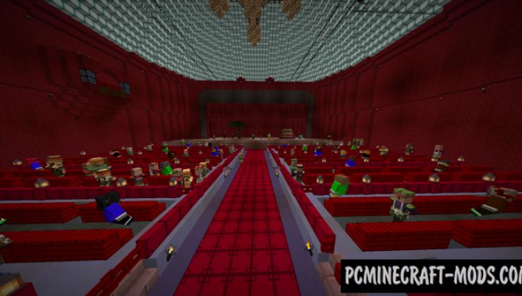 Opera House Hitman - Adv Map For Minecraft
