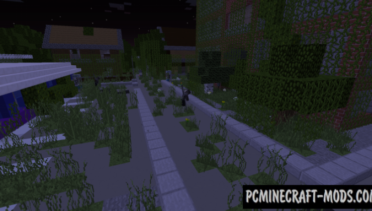 Zombie's World - RPG, Adventure Map For Minecraft