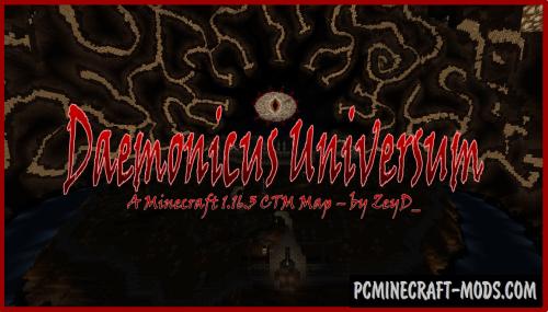 Daemonicus Universum - Adventure Map Minecraft