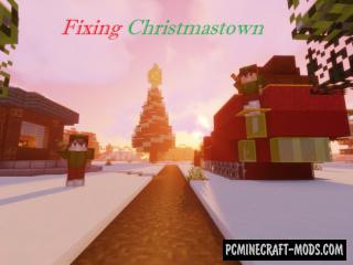 Fixing Christmastown - Adventure Map Minecraft