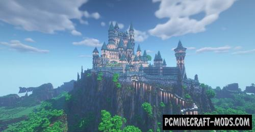 Celestial Castle Map For Minecraft
