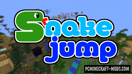 Snake Jump - Parkour Map For Minecraft