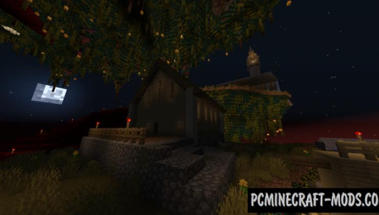 Seasonal Skies - CTM Map For Minecraft