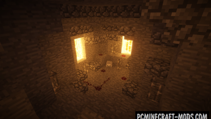 Mysterious Mine - Adventure Map For Minecraft