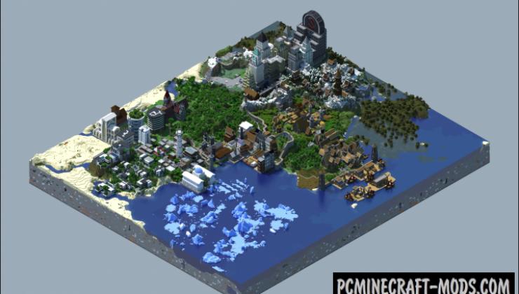 Jolhaim: An Open World RPG Map For Minecraft