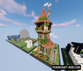 Big buildings - Houses Map For Minecraft