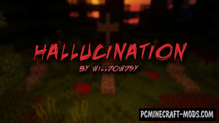 Hallucination - Horror Map For Minecraft