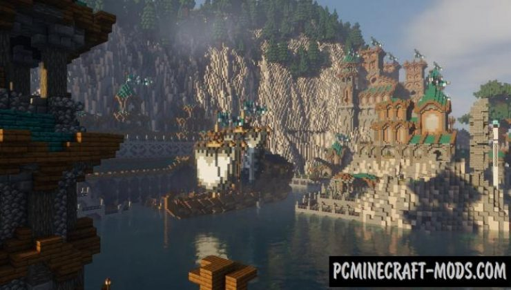 Luffingtons Harbor - City Map For Minecraft