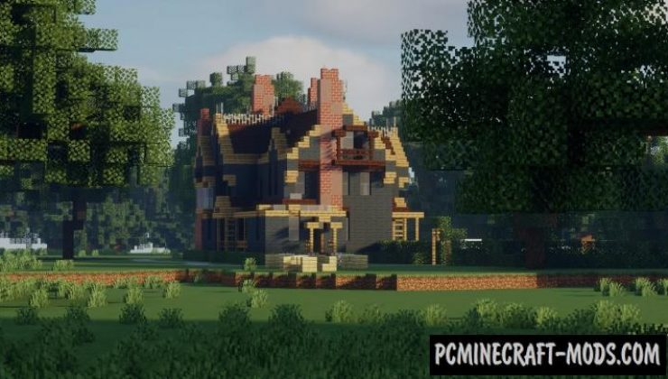 Graywood Victorian Mansion Map For Minecraft