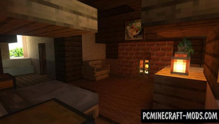 Scottish Mansion Map For Minecraft