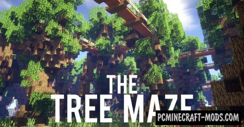 Tree Maze - Puzzle Map For Minecraft